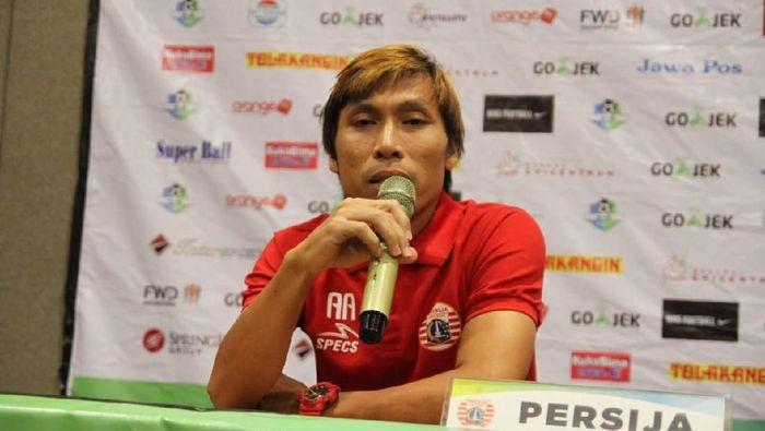 Gelandang Persija Jakarta Asri Akbar (dok. Persija)