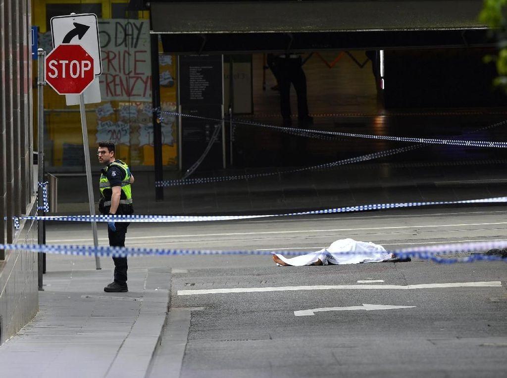 Tewaskan 1 Orang, Begini Suasana Mencekam TKP Penikaman di Melbourne