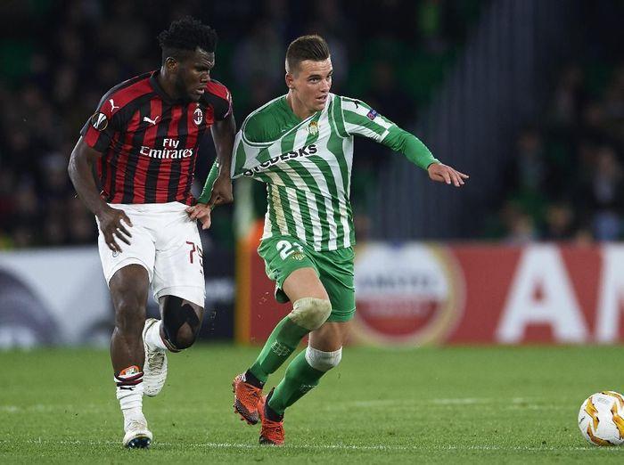 Real Betis kontra AC Milan berakhir imbang 1-1 (Aitor Alcalde/Getty Images)