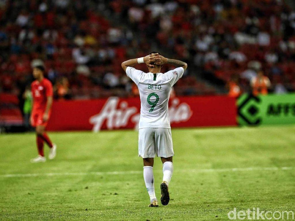 Penguasaan Bola Tanpa Hasil untuk Indonesia