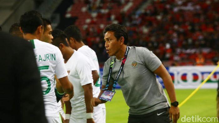 Pelatih Indonesia, Bima Sakti. (Foto: Pradita Utama/detikcom)