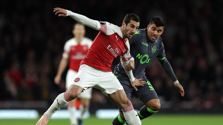 Arsenal Diredam Sporting di Emirates