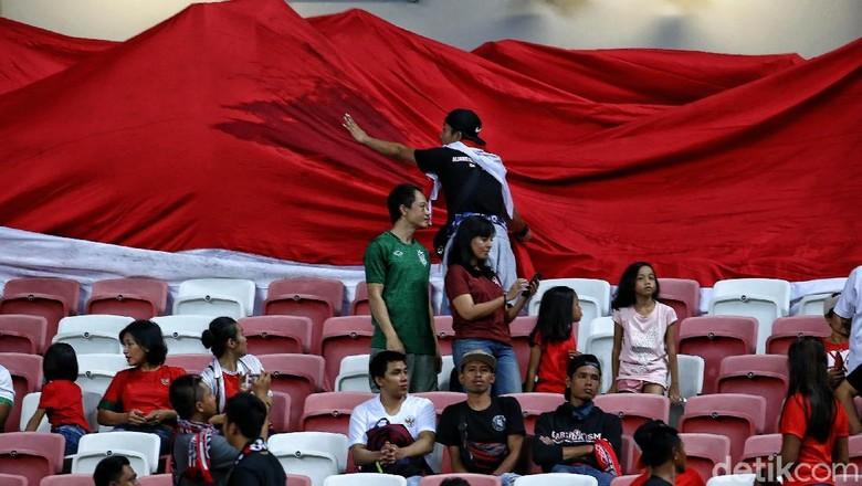 Tiket Indonesia vs Timor Leste di Piala AFF 2018 Belum Banyak Terjual
