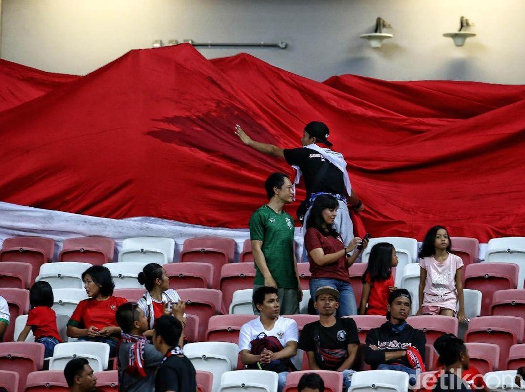 Jelang Timnas Indonesia VS Timor Leste, Tagar #KosongkanGBK Menggaung