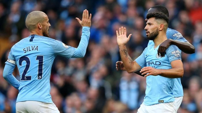 Manchester City akan menghadapi Manchester United akhir pekan ini. (Foto: Alex Livesey/Getty Images)