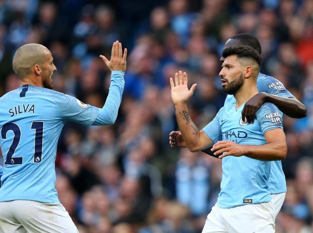 Jelang Derby Manchester, David Silva: Jangan Lihat Selisih Poinnya