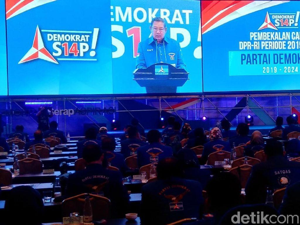 Kenang Bung Tomo, SBY Minta Caleg PD Jaga NKRI
