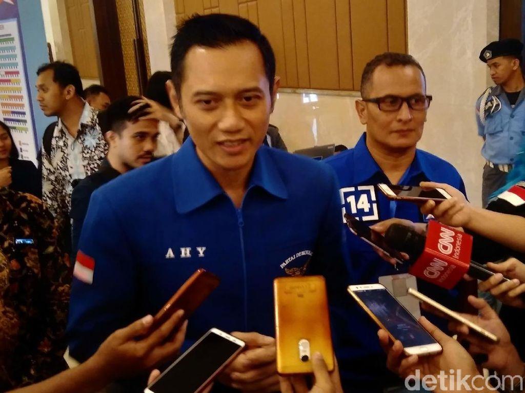 AHY Kritik Jokowi yang Tanya Urusan Parpol di Debat Capres