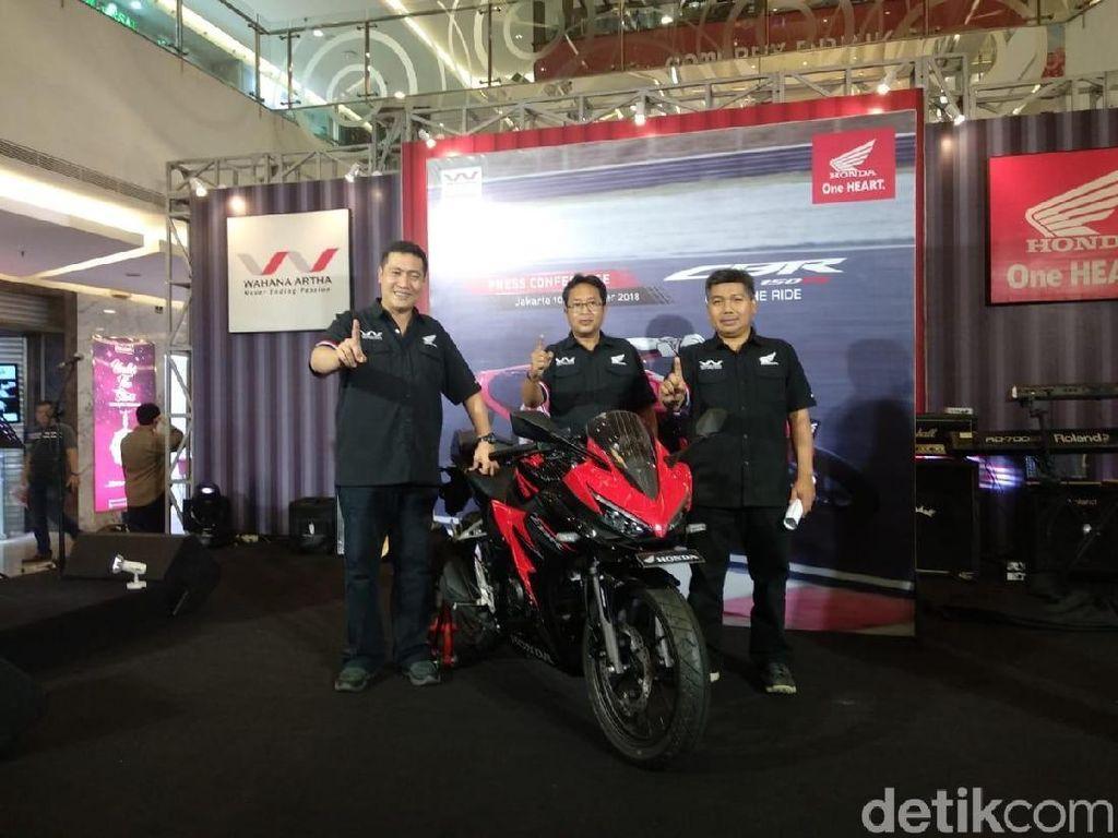 New Honda CBR150R Diluncurkan di Jakarta, Ini Fitur-fitur Barunya