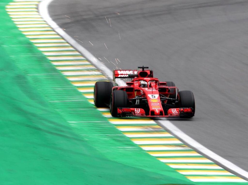 Free Practice III GP Brasil: Vettel Ungguli Duo Mercedes