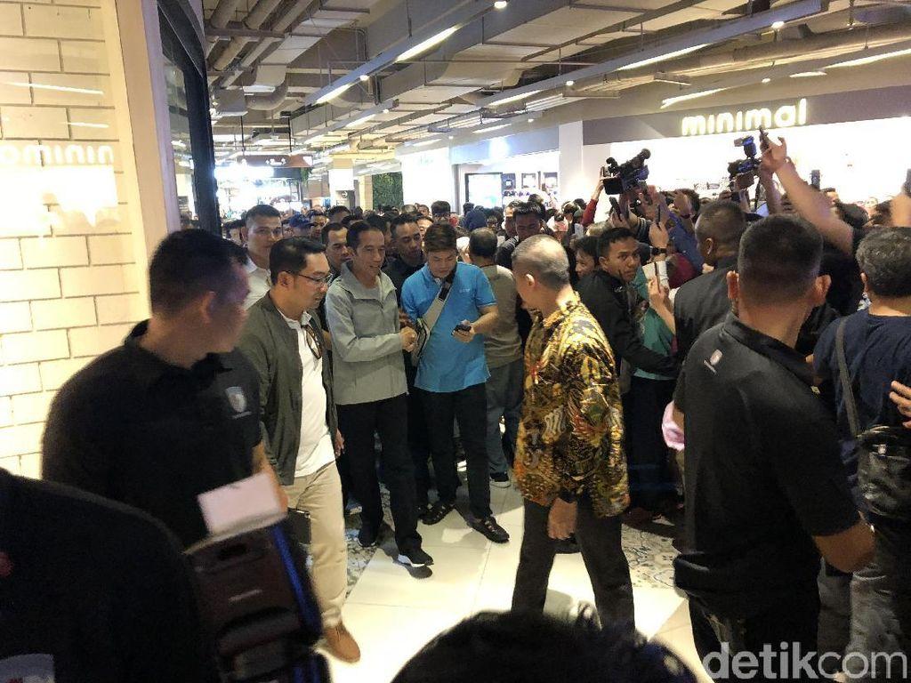 Jokowi Datangi Paskal Hyper Square Bandung, Pengunjung Histeris