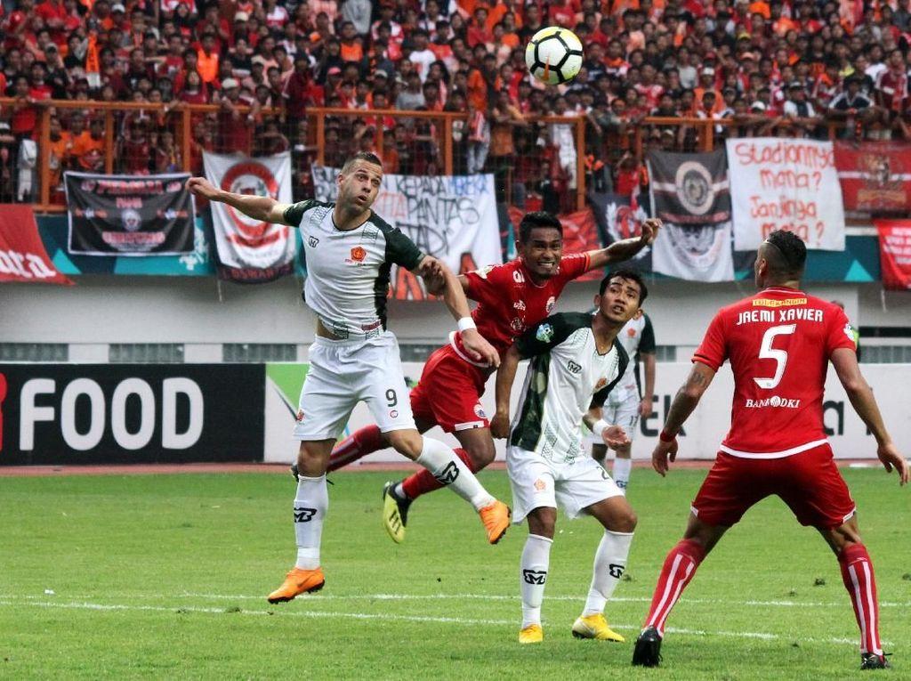 Hasil Liga 1: Persija Diimbangi PS Tira 0-0