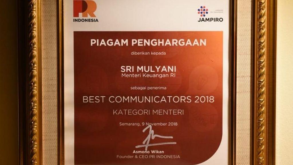 Sri Mulyani Raih Penghargaan Lagi