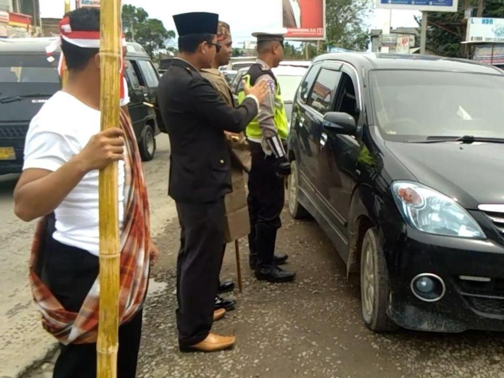 Unik, Pelanggar Lalin di Aceh Ditilang oleh Pahlawan Nasional