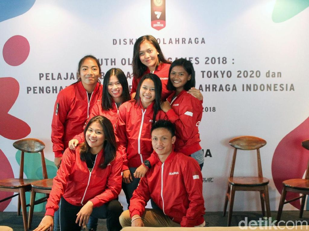 Cerita Atlet Muda Indonesia di Youth Olympics Games 2018