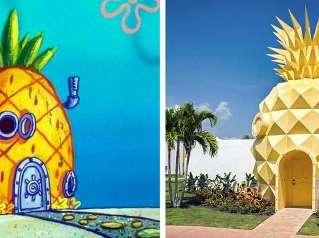 Kumpulan Rumah Film Animasi Ini Juga Ada di Dunia Nyata