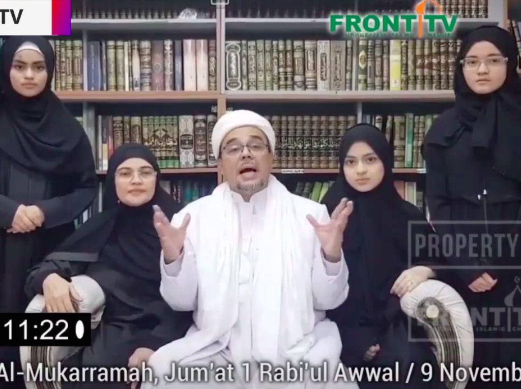 Habib Rizieq Bicara, Istana hingga Maruf Amin Menanggapi