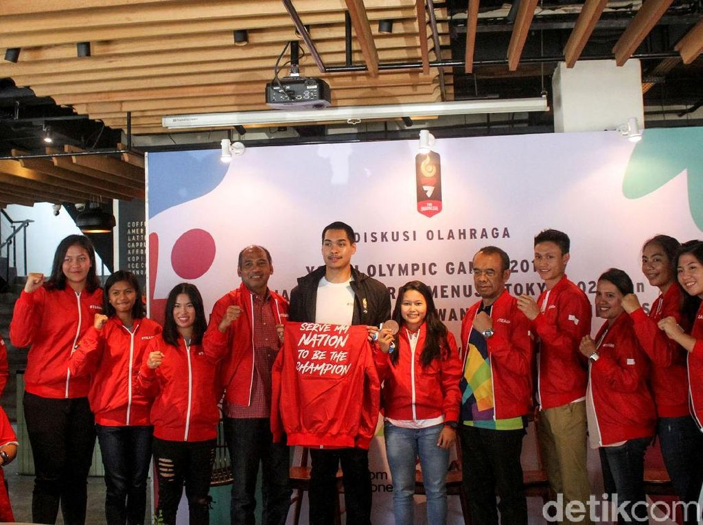 Pahlawan Olahraga Indonesia Persiapkan Diri Menuju Tokyo 2020