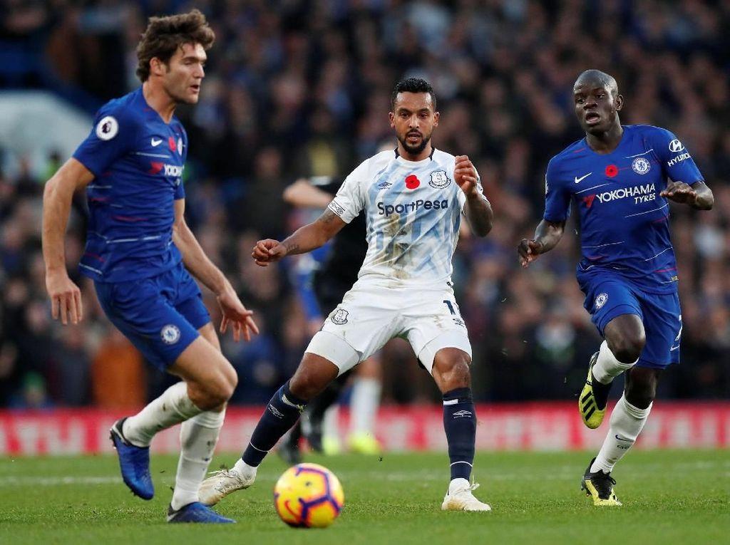 Chelsea Vs Everton Berakhir Imbang 0-0