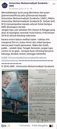 Postingan Universitas Muhammadiyah Surakarta