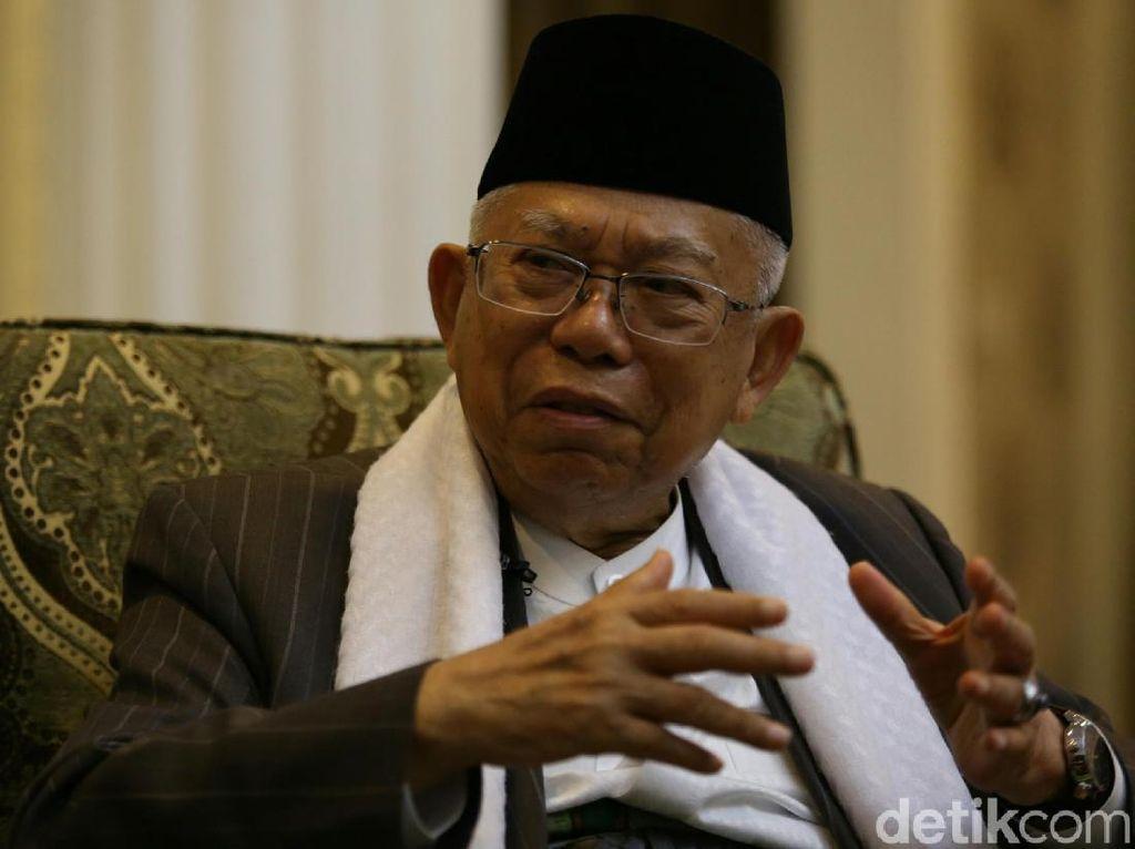 Maruf Amin Minta IPNU Jaga RI Dari Pemahaman Radikalisme dan Intoleran