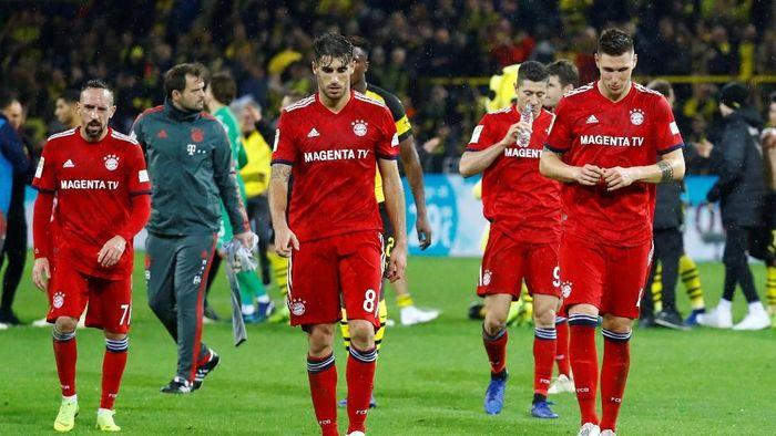 Bayern Munich tercecer di posisi lima Bundesliga. (Foto: REUTERS/Kai Pfaffenbach)