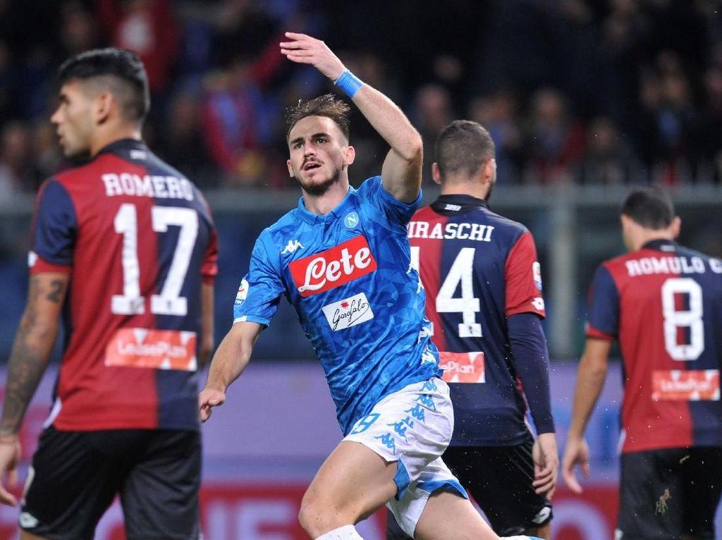 Hasil Liga Italia: Balikkan Keadaan, Napoli Taklukkan Genoa 2-1