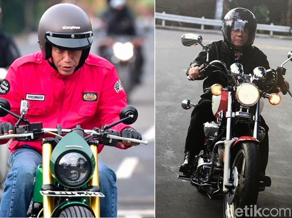 Jokowi dan Duterte, Presiden yang Suka Motoran
