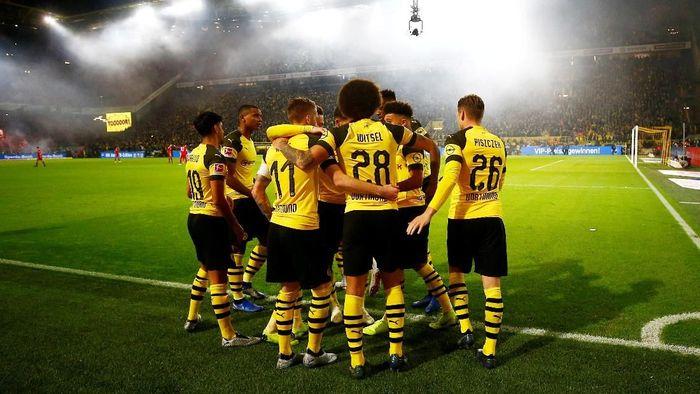 Borussia Dortmund menang 3-2 atas Bayern Munich di Der Klassiker dini hari tadi. (Foto: Wolfgang Rattay/Reuters)