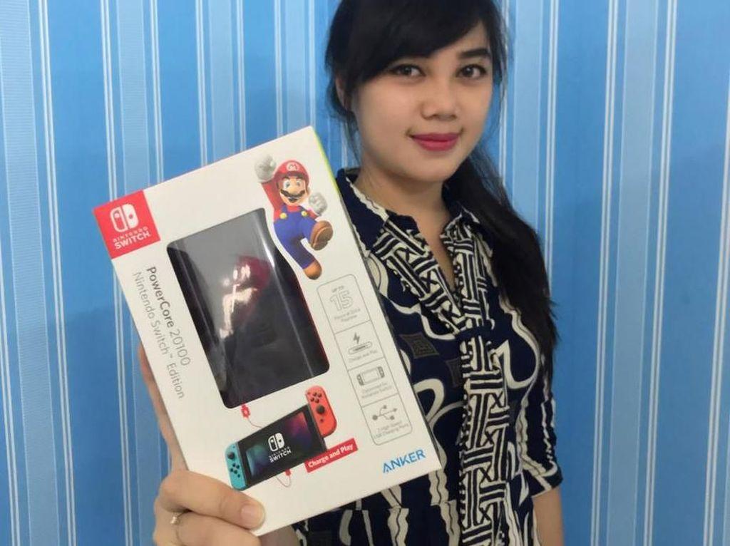 Asyik, Powerbank Berlisensi Nintendo Kini Ada di Indonesia