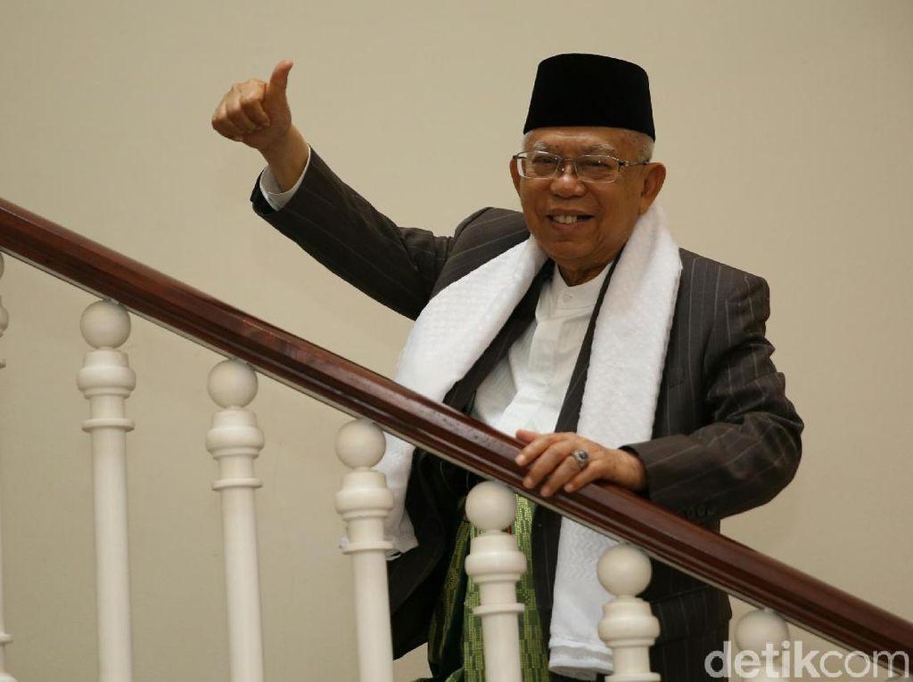Maruf Amin Dorong Perkembangan Ekonomi Syariah Nasional (Lagi)