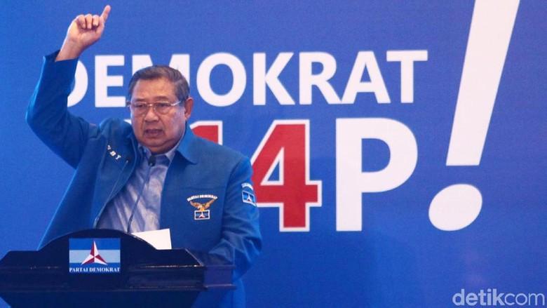 SBY Surati PD, Sebut Kampanye Akbar Prabowo Tak Lazim dan Tak Inklusif