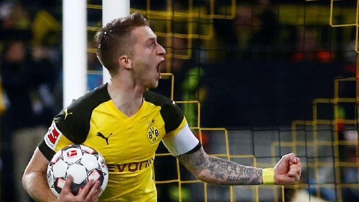 Marco Reus tengah on fire musim ini dengan delapan gol di Bundesliga (Wolfgang Rattay/Reuters)