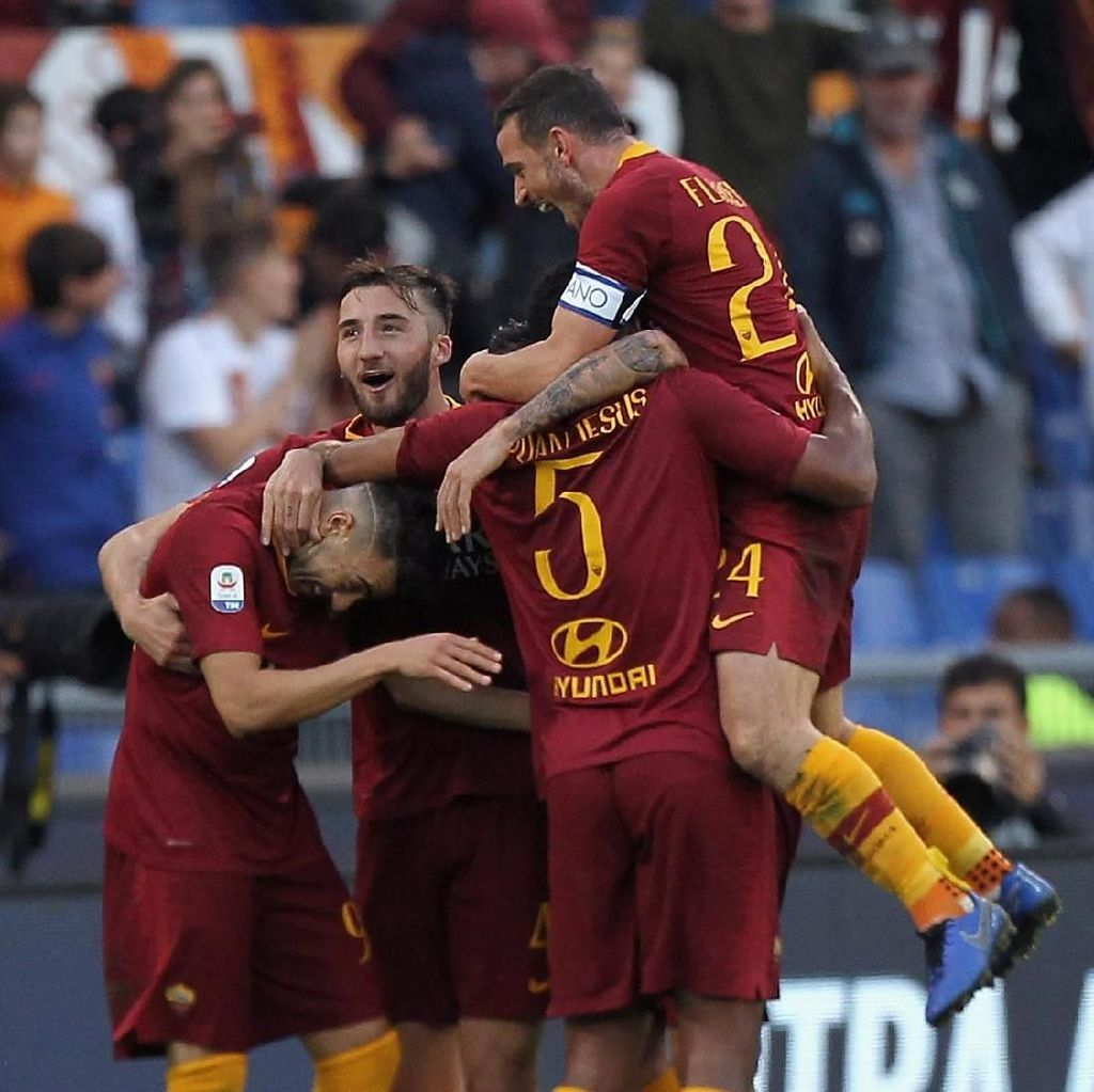 El Shaarawy Dua Gol, Roma Gasak Sampdoria 4-1