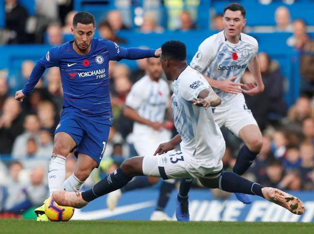 Babak I Chelsea Vs Everton Masih Tanpa Gol