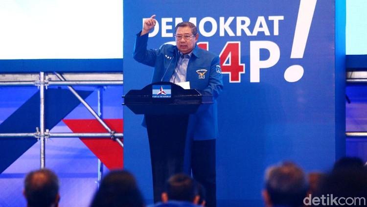 Momen SBY Tutup Pembekalan Caleg DPR dari Demokrat