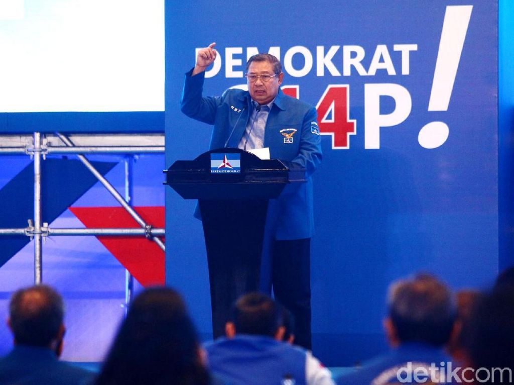 Geramnya PD Gegara SBY Diseret dalam Chat Yusril-Habib Rizieq
