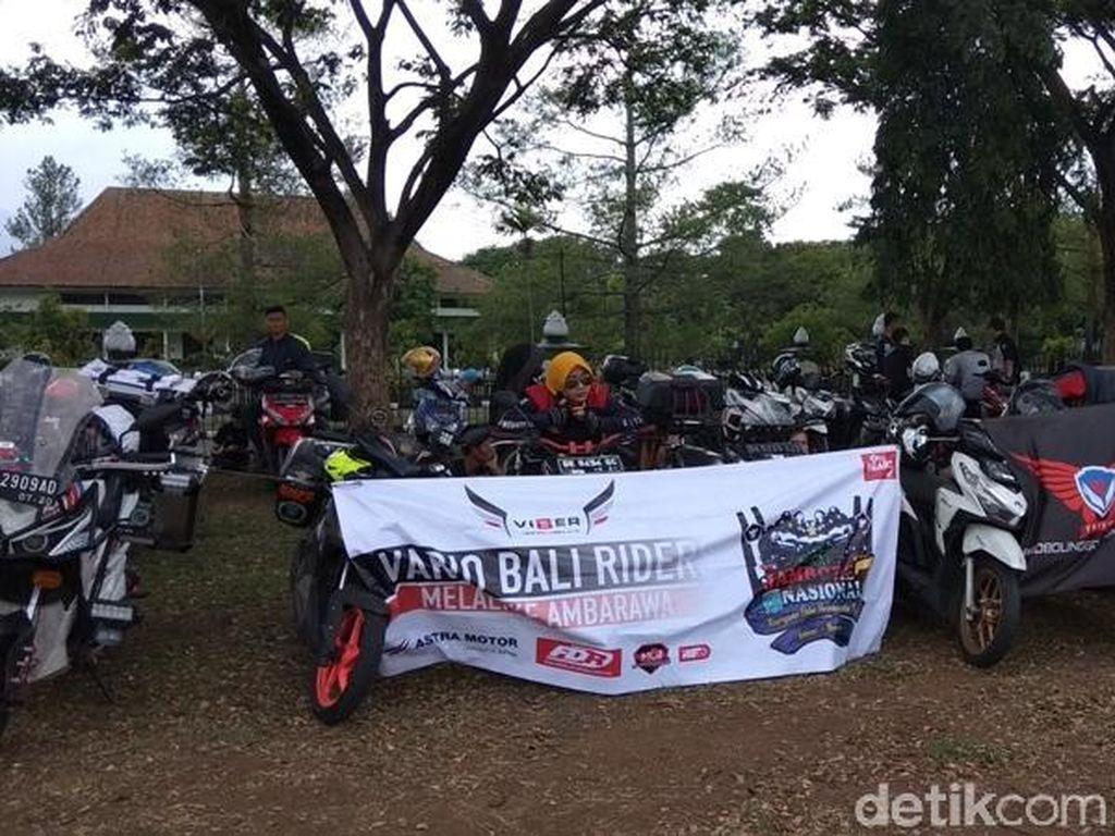 Rayakan Hari Pahlawan, Bikers Vario Gelar Jambore Nasional