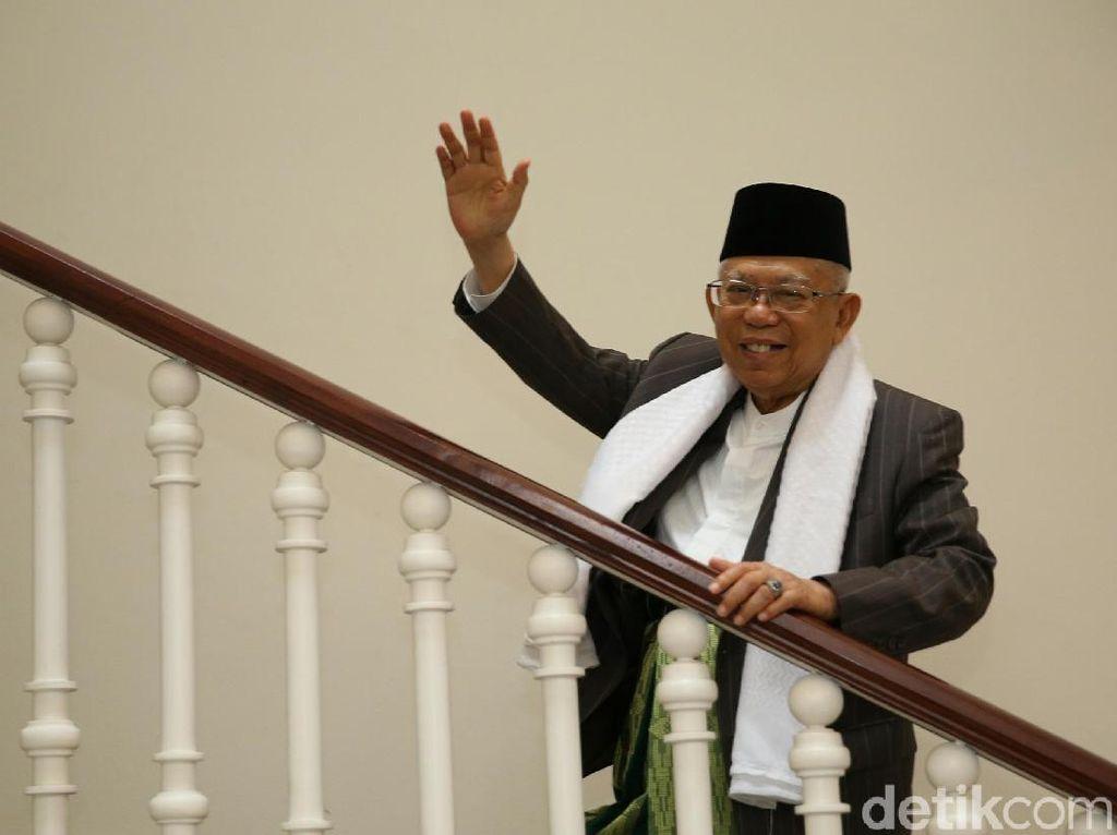 Hari Bhayangkara, Maruf Amin Minta Polri Bimbing Masyarakat Menuju New Normal