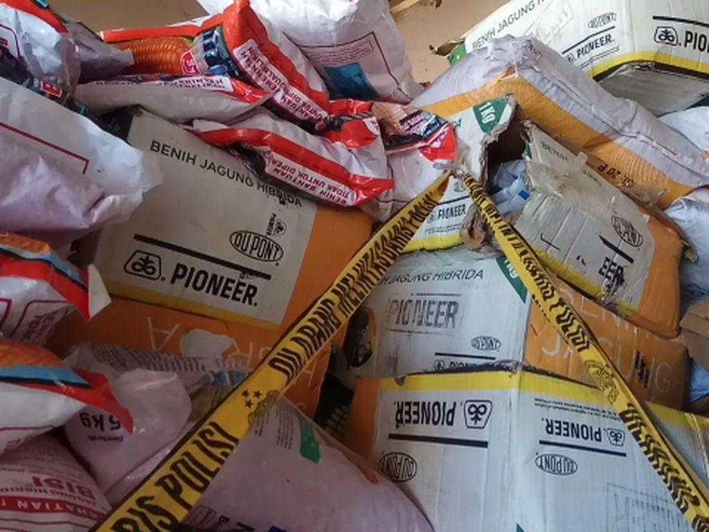 Penyelundup 2,8 Ton Bibit Jagung Pemerintah Ditangkap di Bone