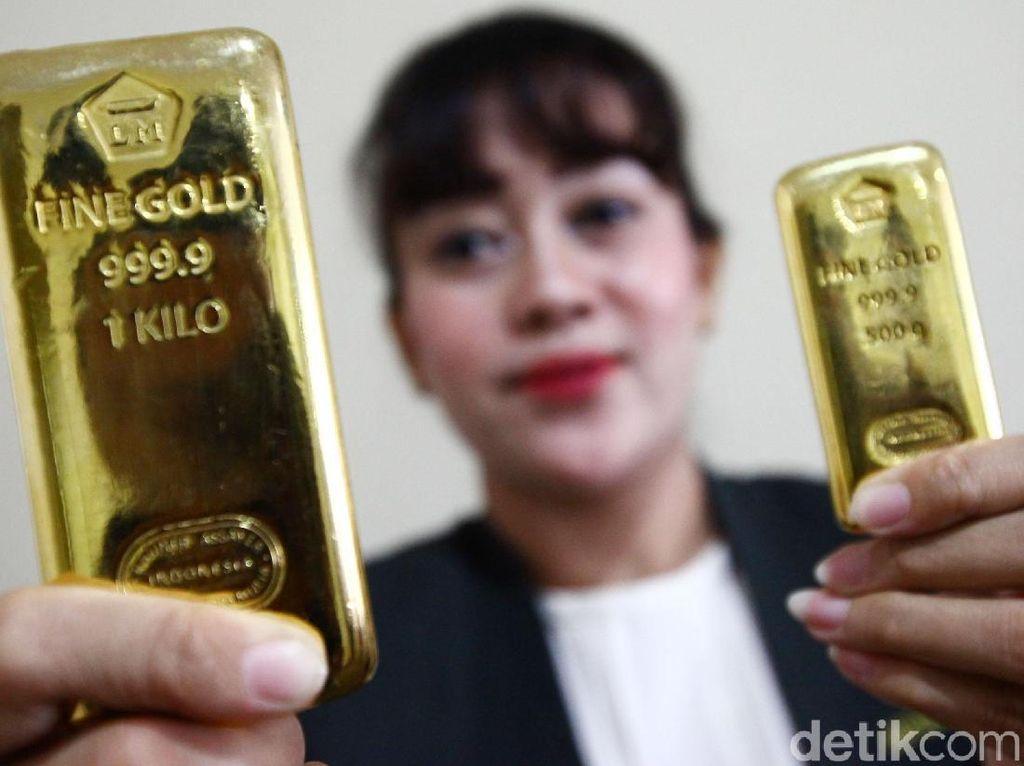 Ntaps! Harga Emas Hari Ini Tembus Rp 900.000/Gram