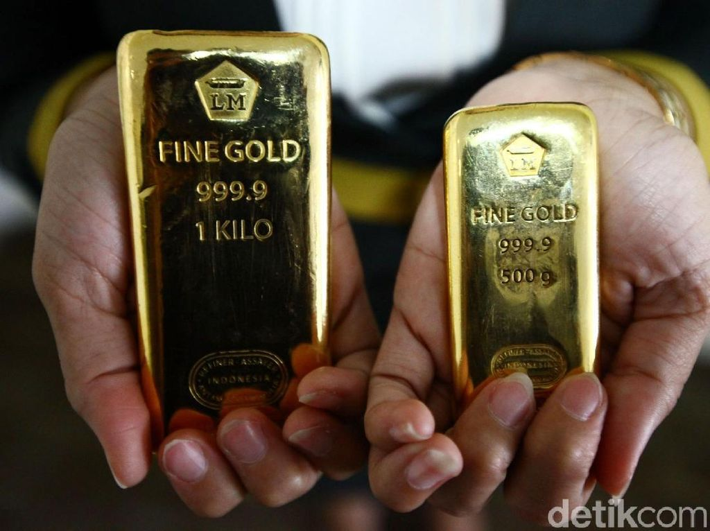 Naik Rp 2.000, Emas Antam Hari Ini Dijual Rp 665.000/Gram
