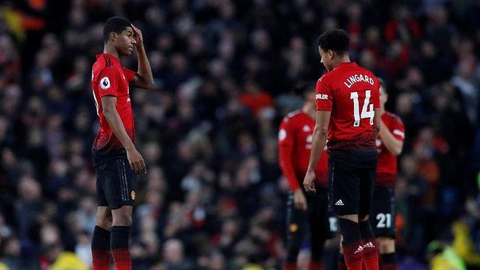 MU kalah 1-3 dari City dalam derby Manchester. (Foto: Darren Staples)