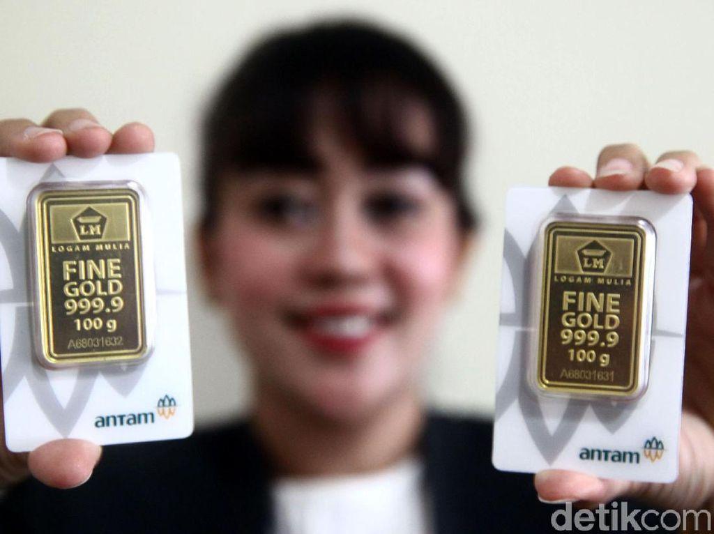 Meroket, Harga Emas Antam Naik Rp 12.000/Gram Hari Ini