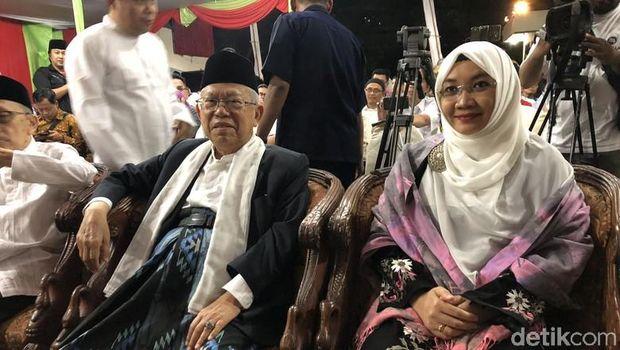 Ma'ruf Amin dan Wury Estu Handayani