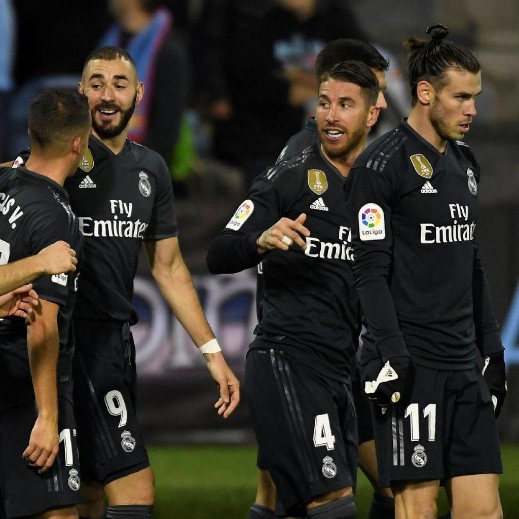 Hasil Celta Vigo vs Madrid: Los Blancos Menang 4-2