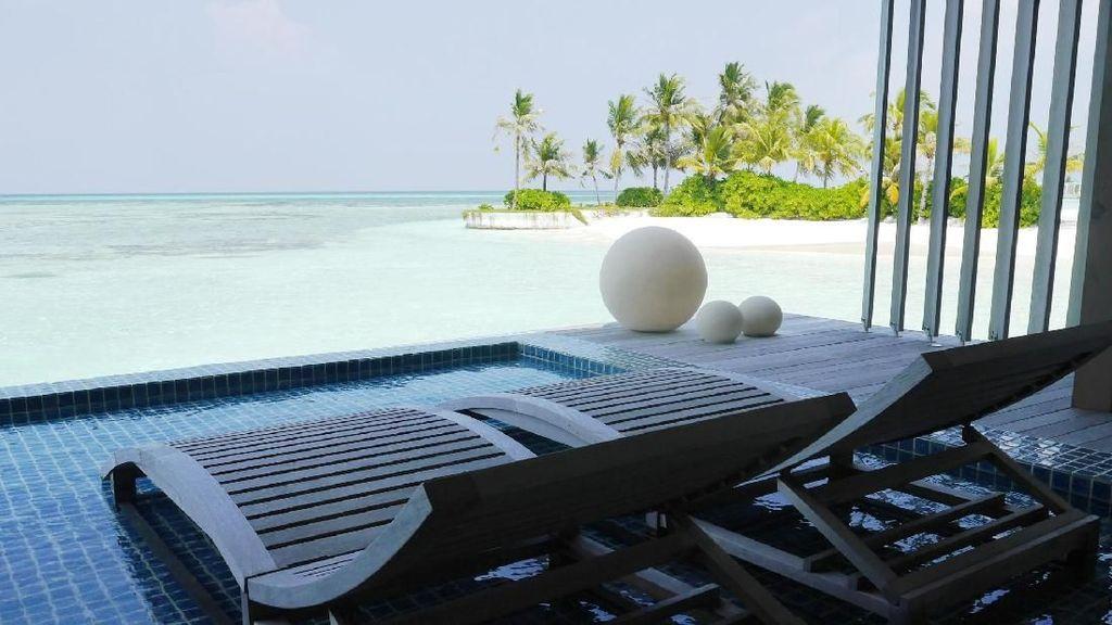 Foto: Resor Mewah Tempat Bulan Madu Selebriti di Maldives