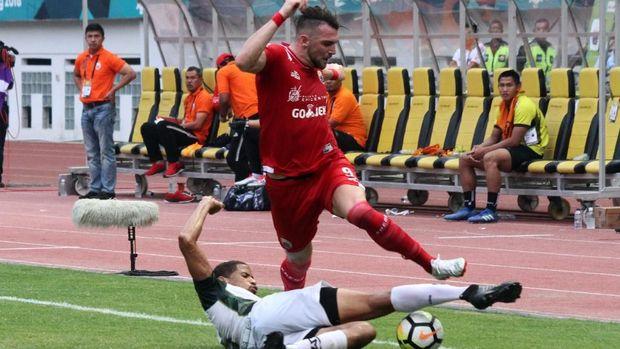 Marko Simic jadi pemain Persija tersubur di Liga 1 2018.