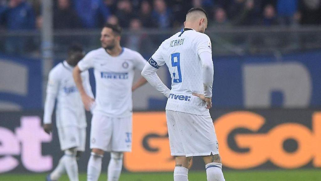 Malam Suram Inter Milan di Bergamo