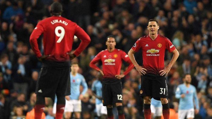 MU kalah di derby Manchester karena rendahnya kepercayaan diri pemain. (Foto: Mike Hewitt/Getty Images)